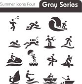 Summer Icons Four gray series