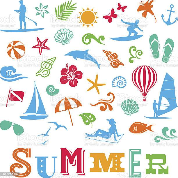 Summer icons vector id487255147?b=1&k=6&m=487255147&s=612x612&h= pfnvl kssqf5ogx oumwi tsprw8ziz61egup6sk08=