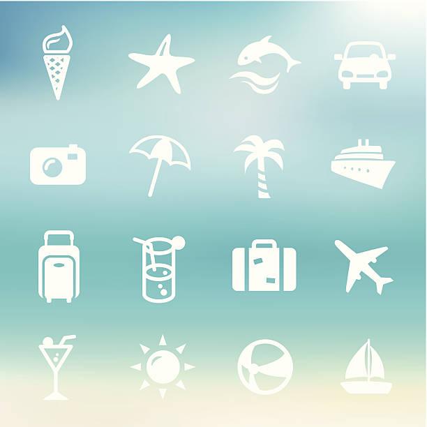 lato ikony - ice cream stock illustrations