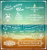 drawn of vector holiday labels.This file has been used illustrator cs3 EPS10 version feature of multiply.