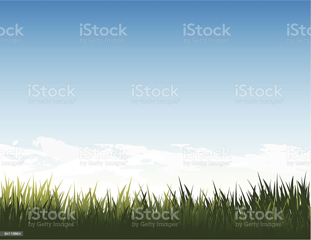 summer landscape royalty-free summer landscape stock vector art & more images of blue