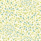 Vector  seamless pattern background texture with  many green leaves.