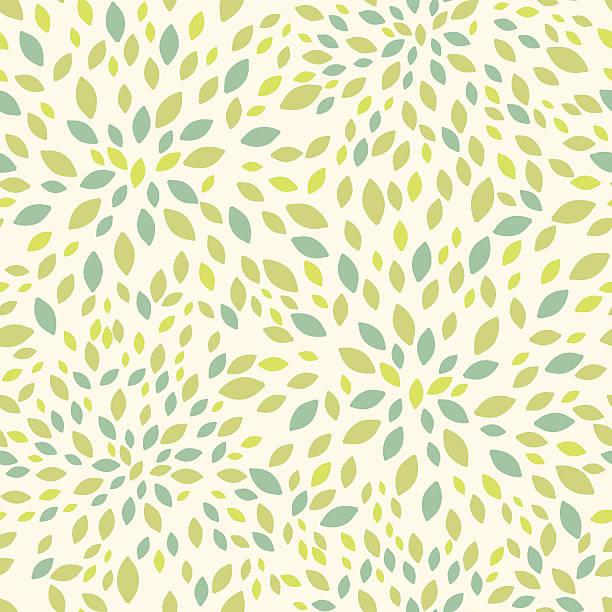 夏のシームレスなパターンの葉の質感 - 葉のテクスチャ点のイラスト素材/クリップアート素材/マンガ素材/アイコン素材