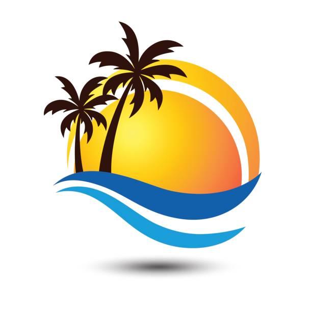 Royalty Free Beach Logo Clip Art, Vector Images ...
