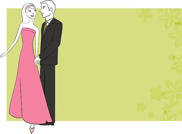 ilustrações, clipart, desenhos animados e ícones de verão do amor - baile de graduação