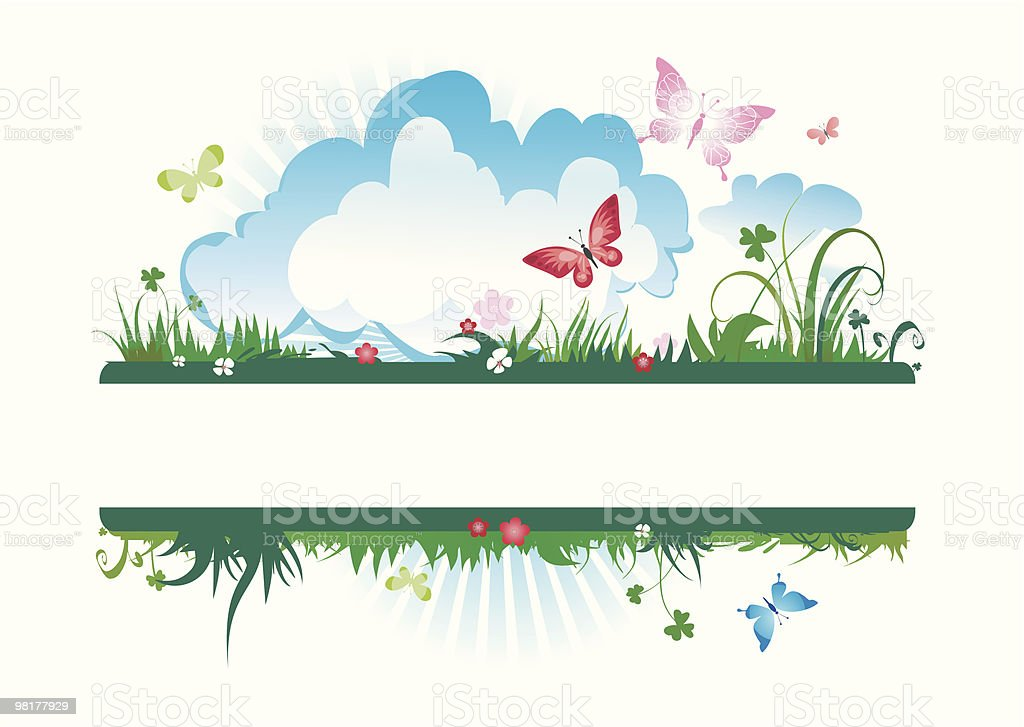 summer meadow banner royalty-free summer meadow banner stock vector art & more images of beauty in nature
