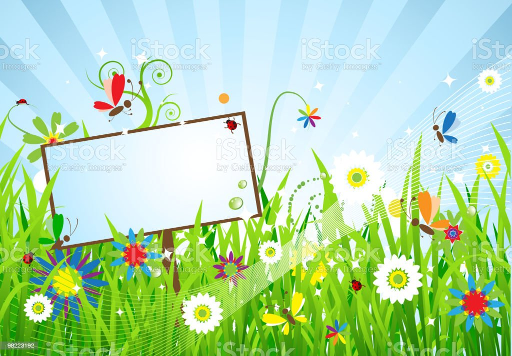 Summer meadow beautiful royalty-free summer meadow beautiful stock vector art & more images of art