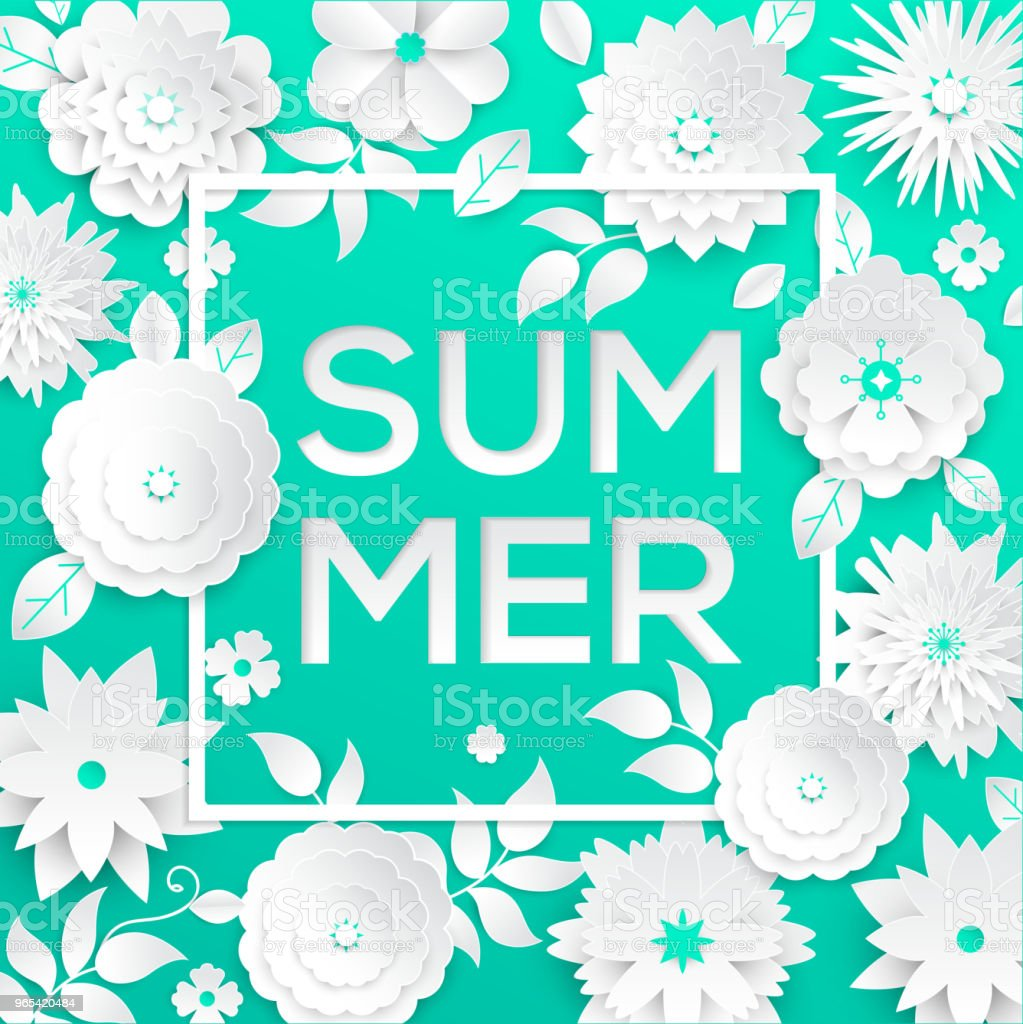 Summer - modern vector colorful illustration royalty-free summer modern vector colorful illustration stock vector art & more images of art