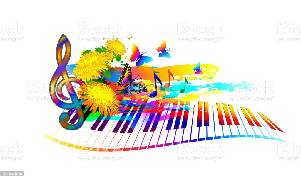 Summer Music Festival Background Stock Illustration - Download ...