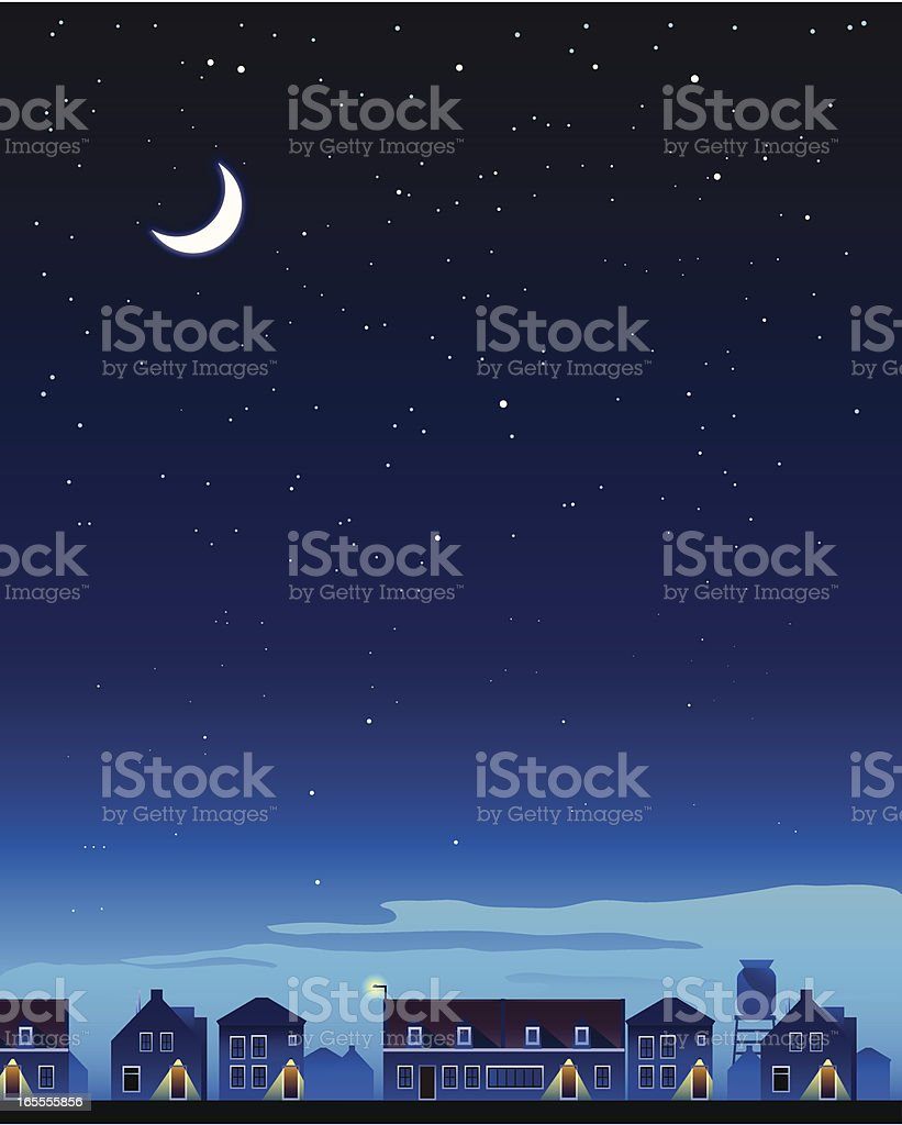 summer night royalty-free summer night stock vector art & more images of backgrounds