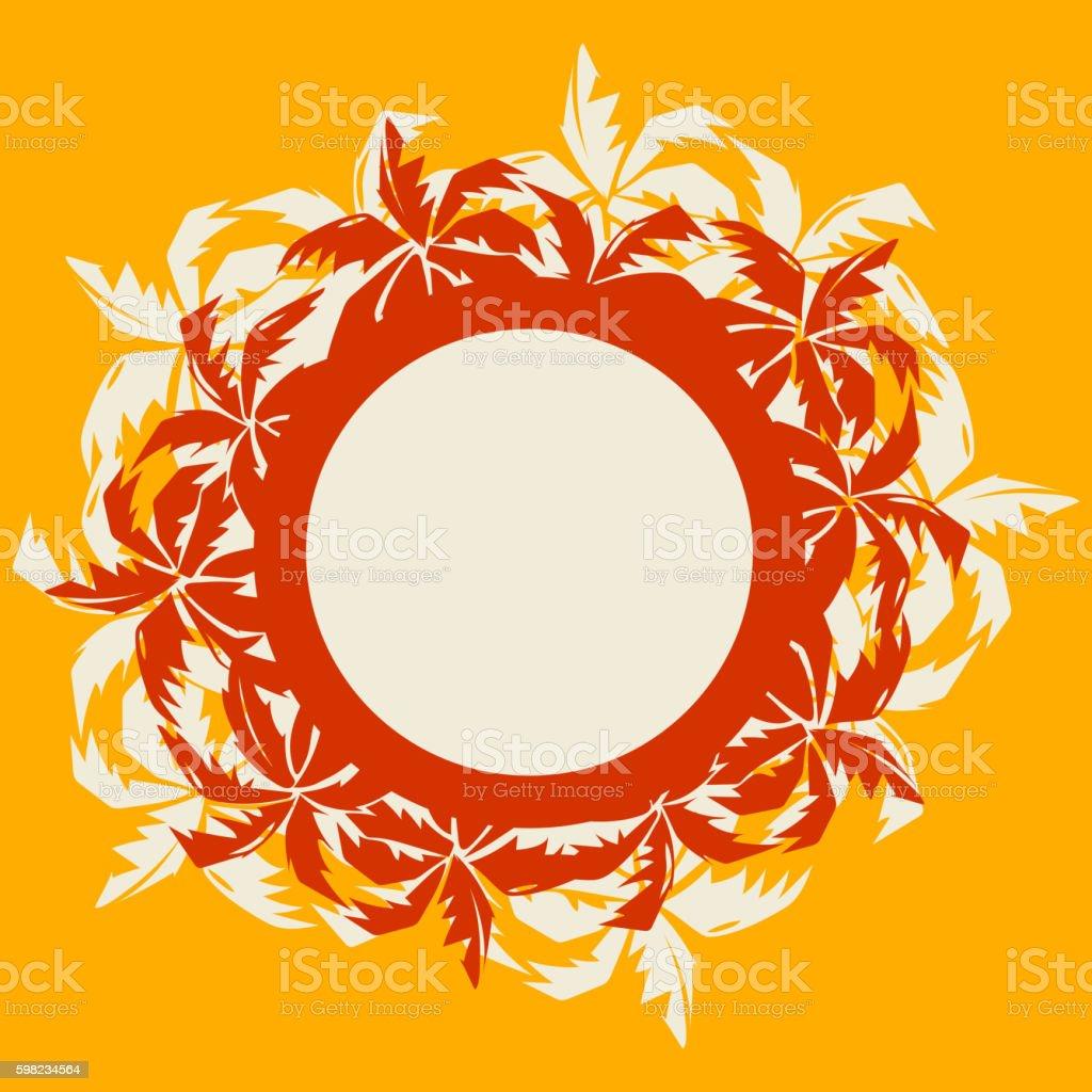 Summer palm trees tropical frame ilustração de summer palm trees tropical frame e mais banco de imagens de abstrato royalty-free