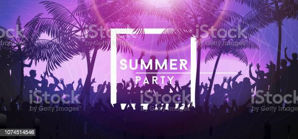 Summer party banner with crowd design vector id1074514546?b=1&k=6&m=1074514546&s=612x612&h=3uammbbtvbikcx9t8kpstwe1w72fwrrvo46k9cqqrgs=