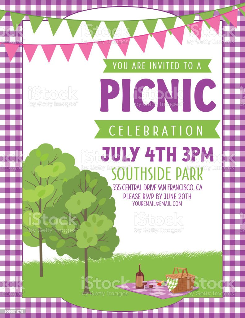 Image Of Corporate Picnic Invitation Email 26