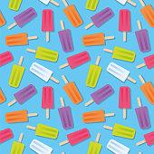 istock Summer Popsicle Seamless Pattern. 1323041144