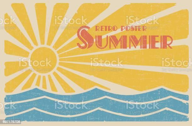 Summer retro poster vector id697176708?b=1&k=6&m=697176708&s=612x612&h=i2wgazabtayycqem51hne mvjxk2aporpmrfnpuwhoq=