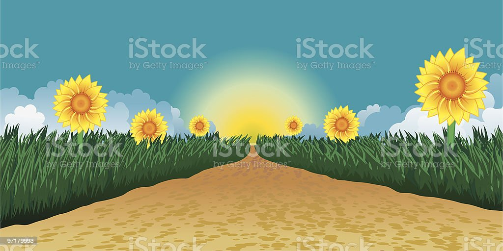 Summer road royalty-free summer road stock vector art & more images of blue