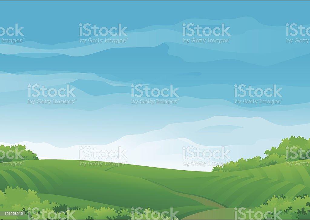 Summer rural landscape royalty-free summer rural landscape stock vector art & more images of agriculture