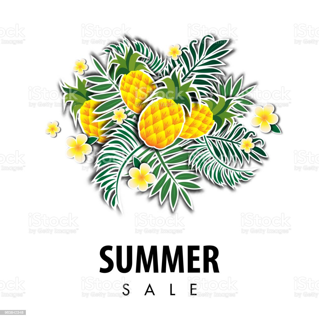 Summer sale background vector illustration sale off template - Royalty-free Backgrounds stock vector