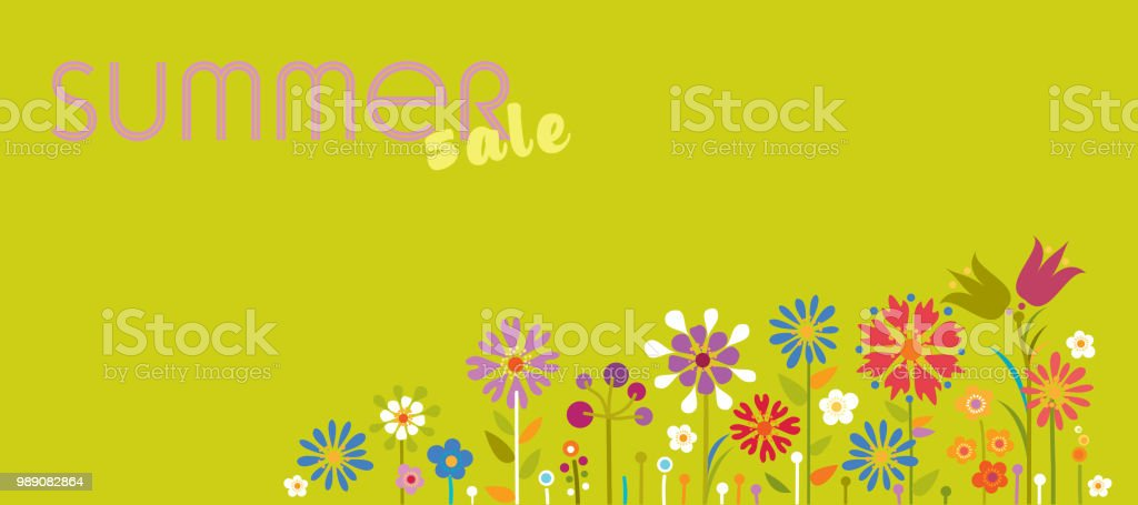 Summer Sale Banner royalty-free summer sale banner stock vector art & more images of advertisement