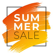 istock Summer Sale design for advertising, banners, leaflets and flyers. 1151207291
