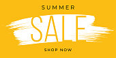 Summer Sale design for advertising, banners, leaflets and flyers. Stock illustration