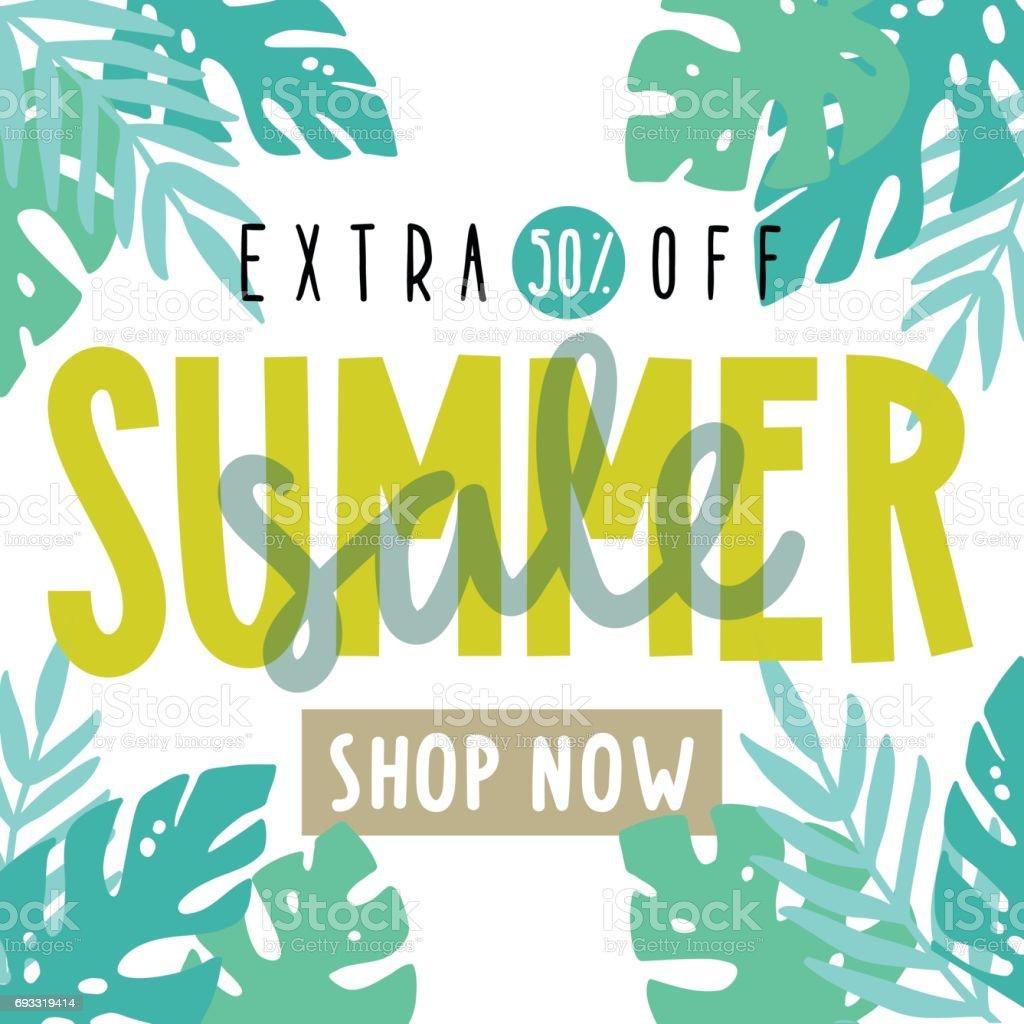 summer sale flyer poster stock vector art 693319414 istock
