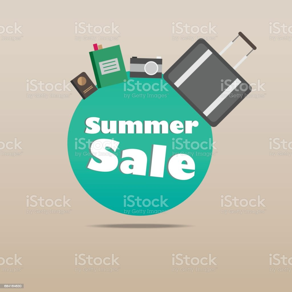 summer sale illustration vector eps10 royalty-free summer sale illustration vector eps10 stock vector art & more images of abstract