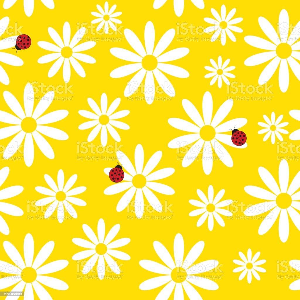 Sommer nahtlose Hintergrund – Vektorgrafik