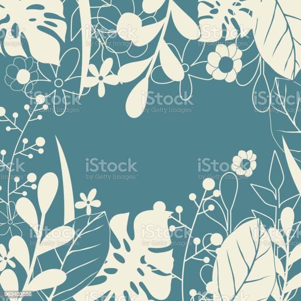 Letni Bezszwowy Tropikalny Wzór - Stockowe grafiki wektorowe i więcej obrazów Abstrakcja