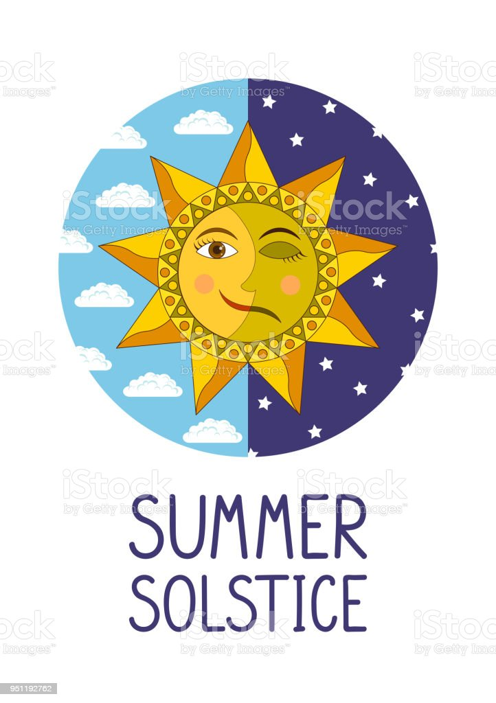royalty free summer solstice clip art vector images illustrations rh istockphoto com First Day of Summer Clip Art happy summer solstice clipart