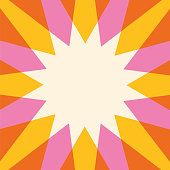 Summer Sun Background. Template for print or web. - Illustration