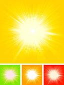 Summer Sun Starburst Set