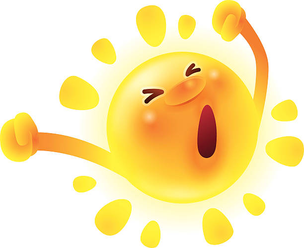 Good Morning Sunshine Clipart : Royalty free clip art of good morning sunshine