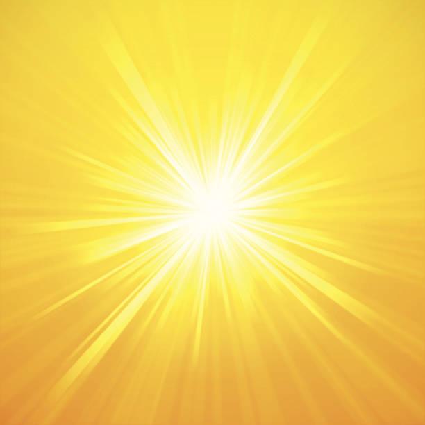 illustrazioni stock, clip art, cartoni animati e icone di tendenza di estate di klein - luce gialla