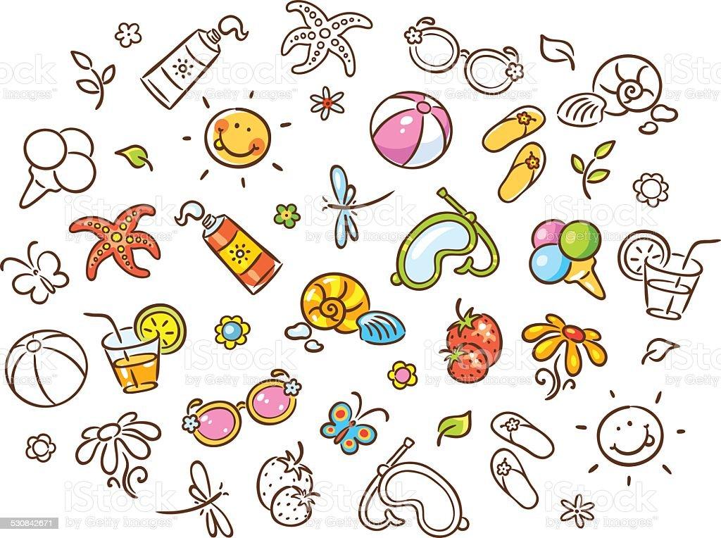 Минск картинки, прикольные рисунки для лето для украшения карандашом