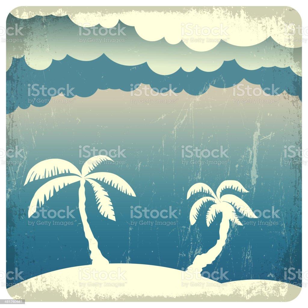 Summer time illustration. royalty-free stock vector art