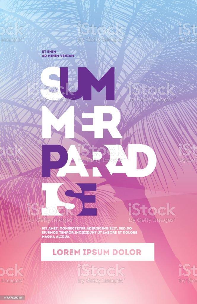 Modèle de conception affiche l'heure d'été parti modèle de conception affiche lheure dété parti – cliparts vectoriels et plus d'images de abstrait libre de droits