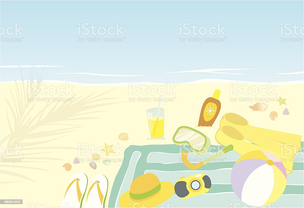 Summer time royalty-free summer time stock vector art & more images of backgrounds
