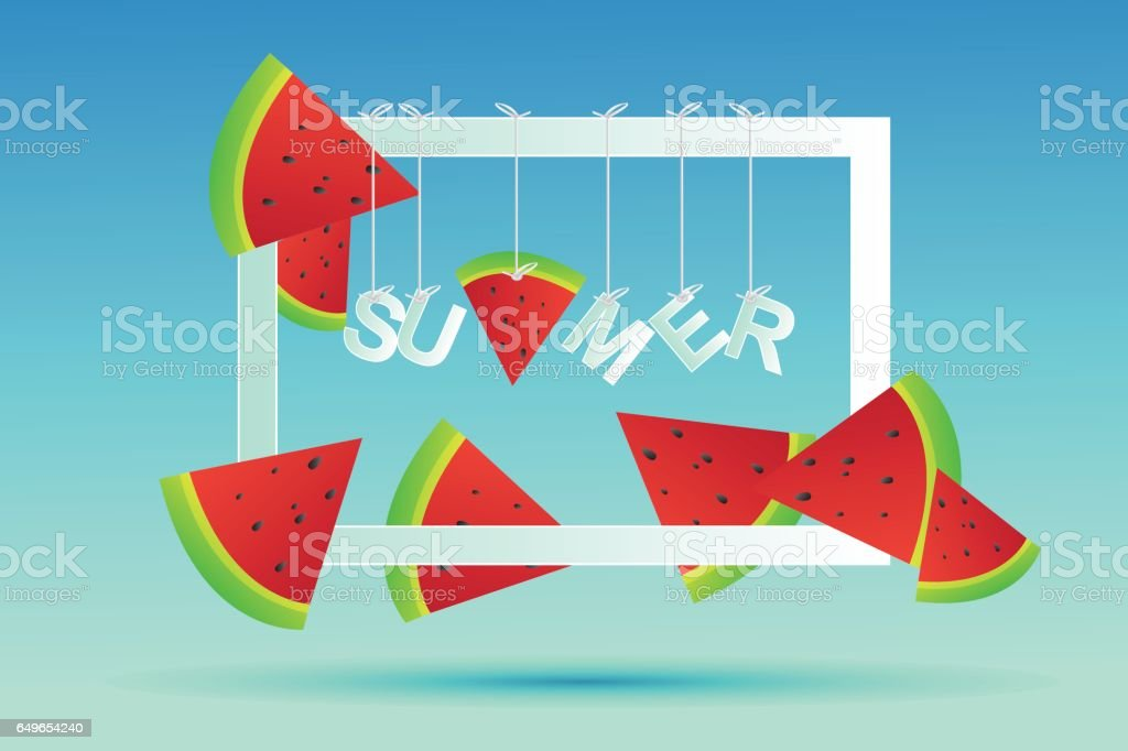 Summer time wallpaper,background, vector,art,design, travel, poster,event vector art illustration
