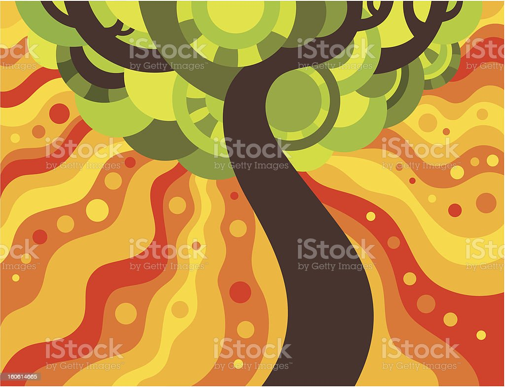 Summer tree royalty-free summer tree stock vector art & more images of abstract