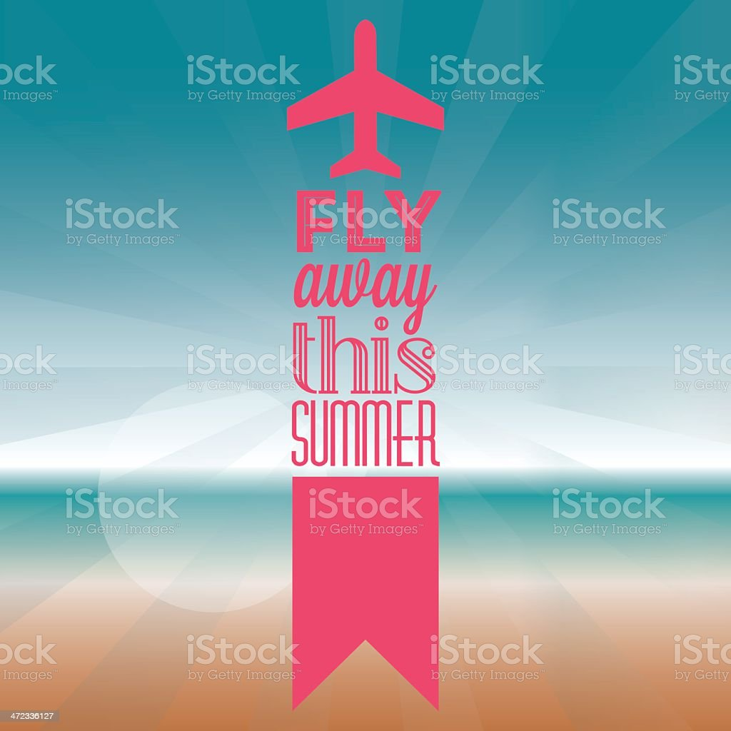Summer vacation background royalty-free summer vacation background stock vector art & more images of backgrounds