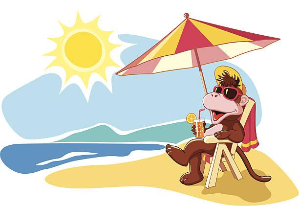 ilustrações, clipart, desenhos animados e ícones de férias de verão pelo mar, ilustração cartoon - viagem de primeira classe