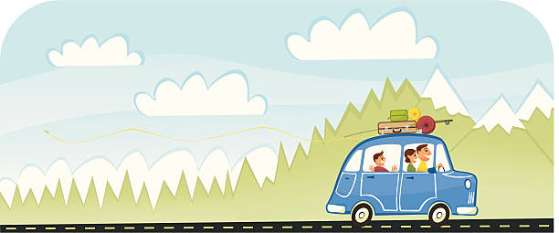 Royalty Free Road Trip Clip Art, Vector Images ...