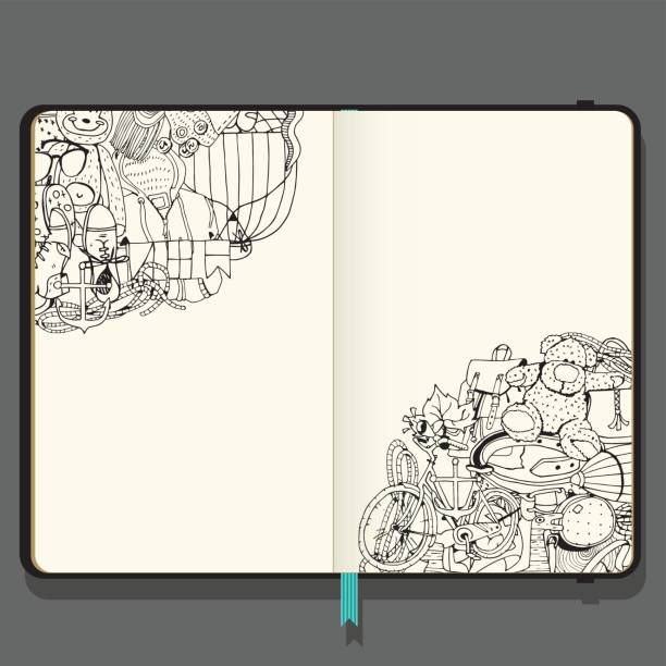 Best Sketch Pad Illustrations Royalty Free Vector Graphics