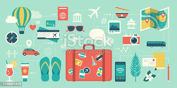 istock Summer vacations and international traveling 1148921479