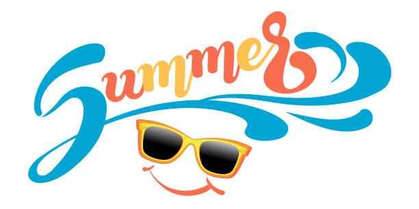 summer vector banner for your design - summer stock illustrations