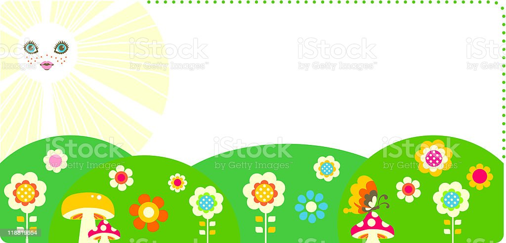 Summer royalty-free summer stock vector art & more images of backgrounds