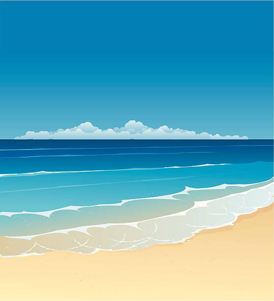 夏の - 海岸点のイラスト素材/クリップアート素材/マンガ素材/アイコン素材