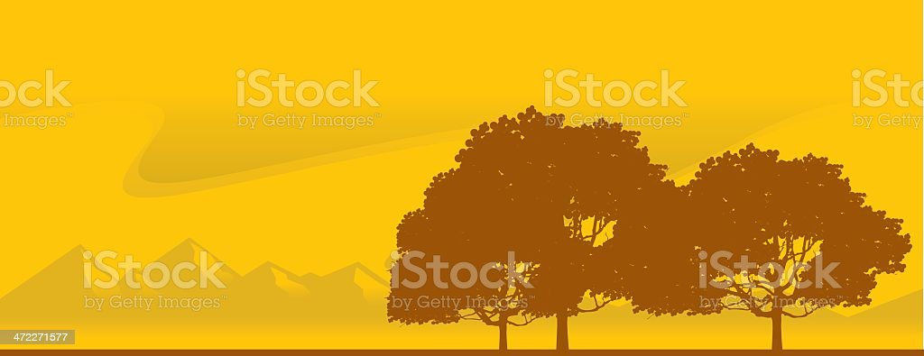 Summer View royalty-free stock vector art
