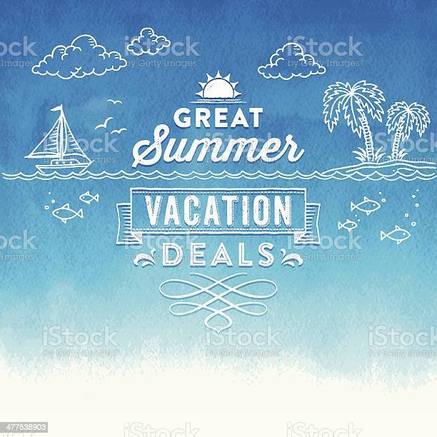Summer watercolor sign vector id477538903?b=1&k=6&m=477538903&s=612x612&h=fmv95df awnorbgdc3v39 cuno2ydqkm gwaakxherc=